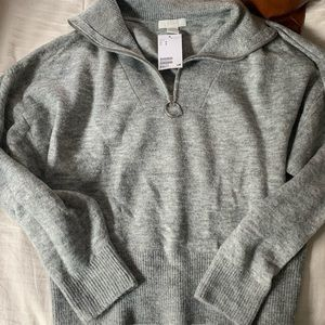 Half zip H&M sweater